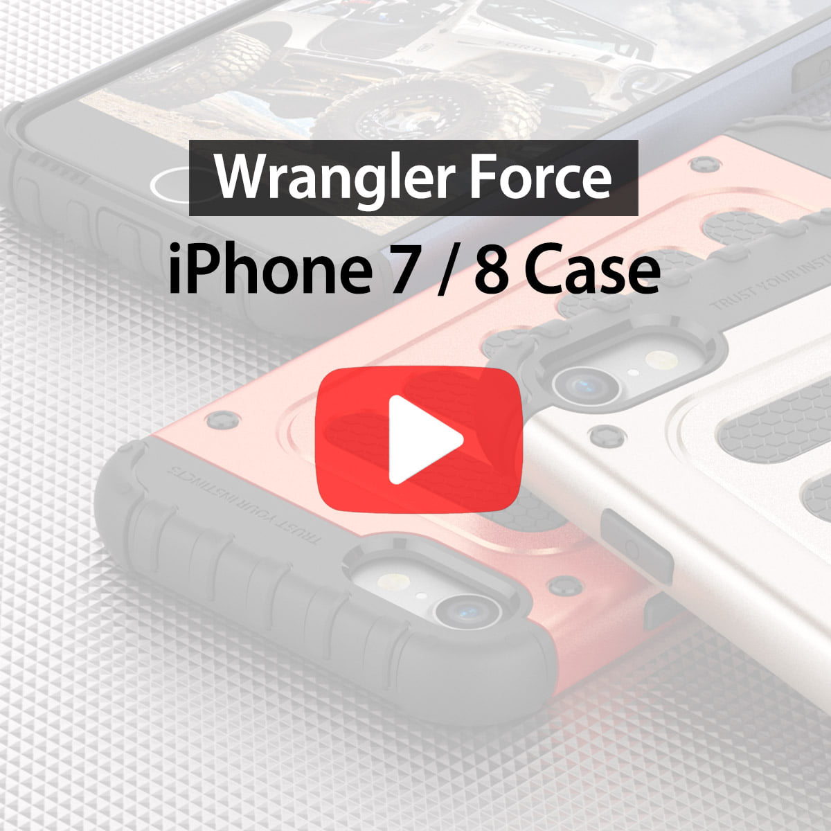 [araree] Wrangler Force for iPhone 7/8