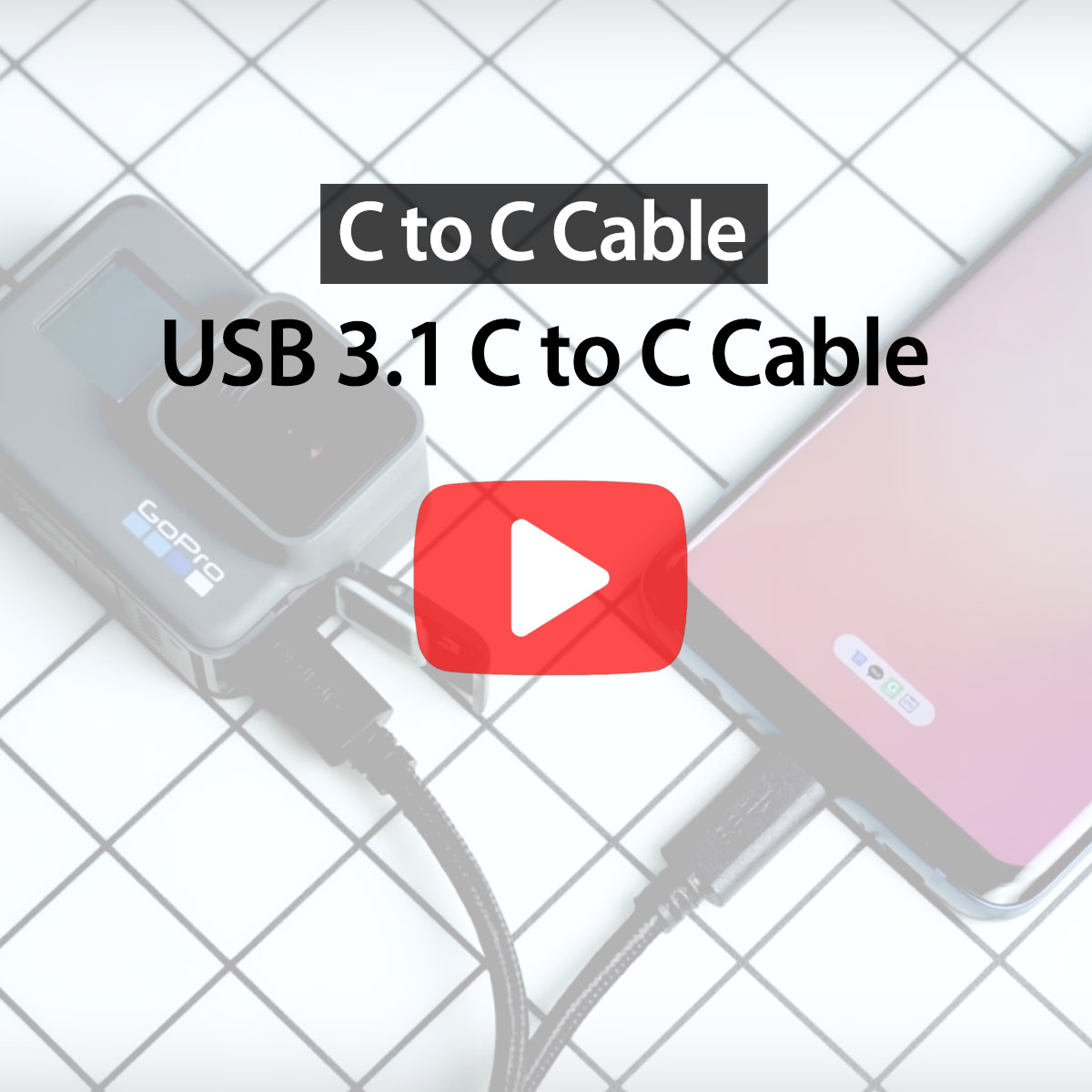 [araree]USB 3.1 CtoC Cable