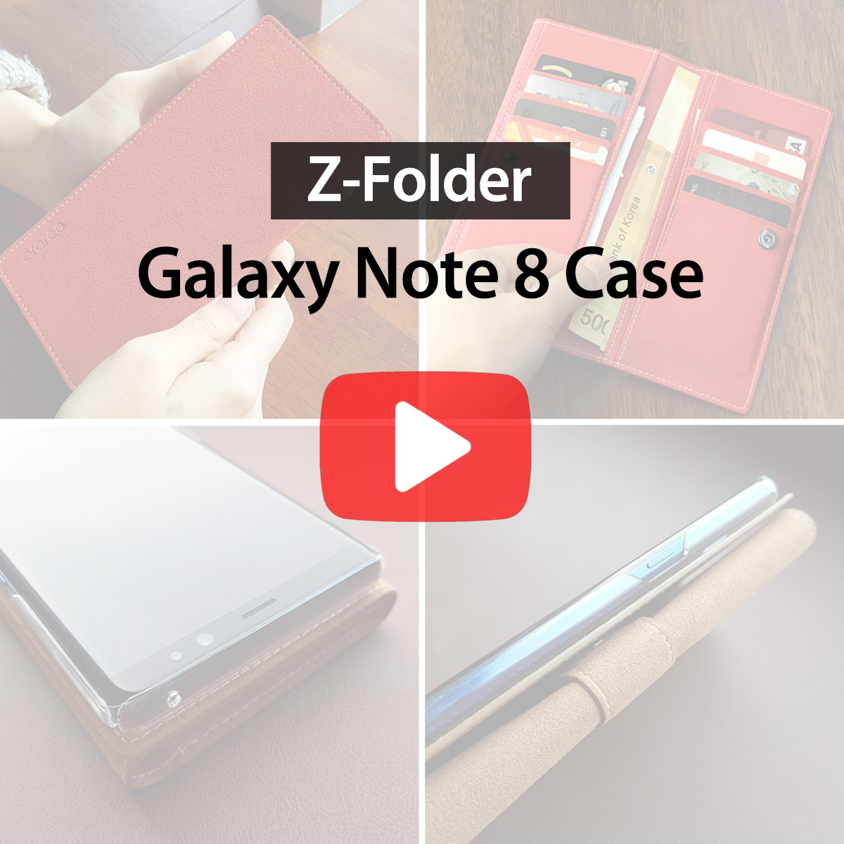 [araree] Z-Folder for Galaxy Note 8