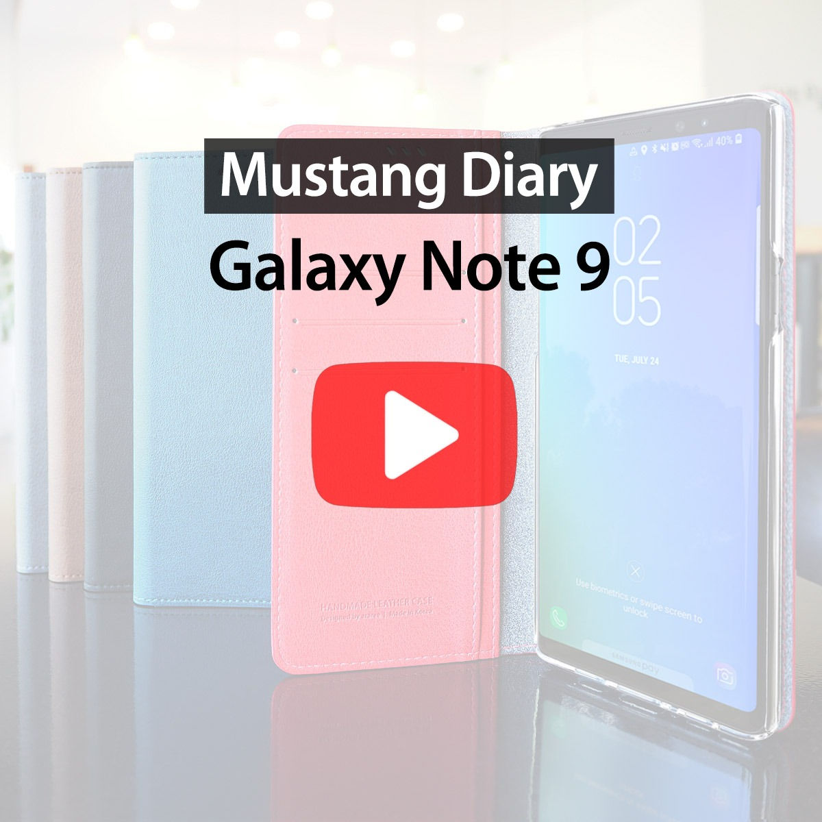 [araree] Mustang Diary cover for Samsung Galaxy Note 9