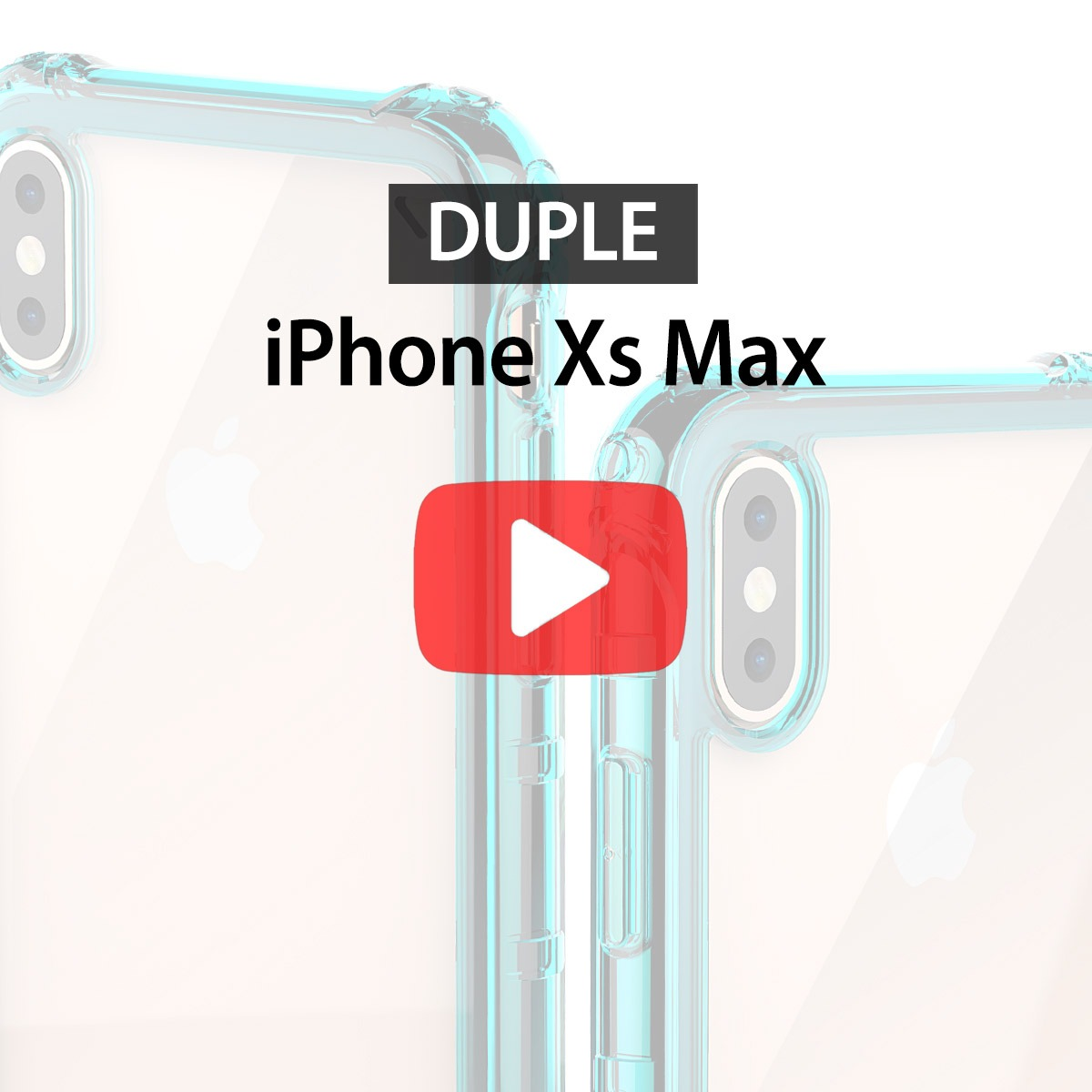 [araree] iPhone Xs Max case Duple unboxing