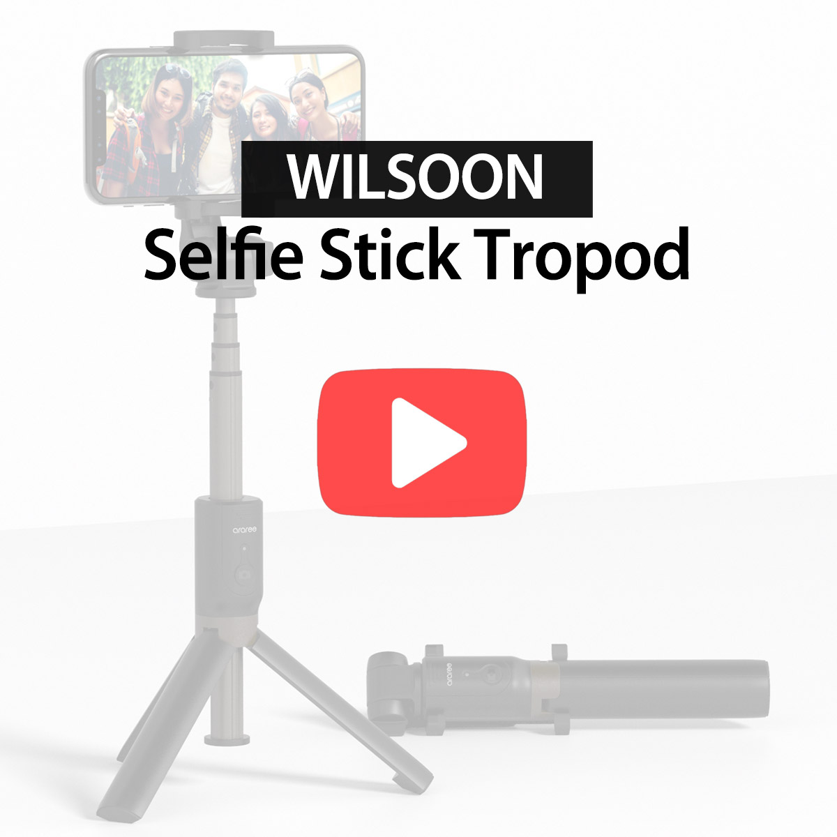 [araree] WILSOON,SELFIE STICK TRIPOD