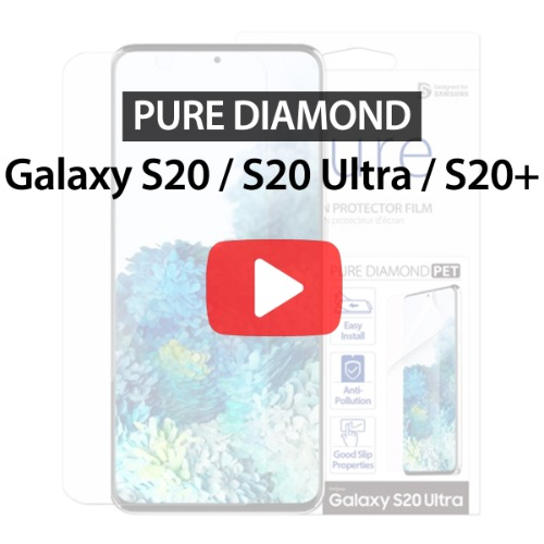 [araree] Galaxy S20 / S20 Ultra / S20+  , PURE DIAMOND